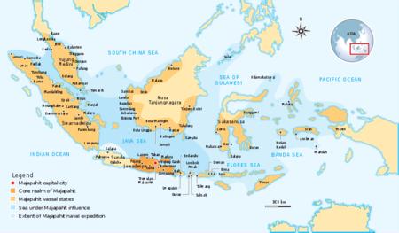 マジャパヒト王国地図