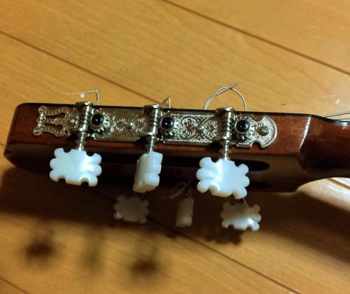 クラシックギターヘッド